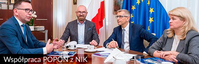 Spotkanie Zarządu POPON z Prezesem NIK Krzysztofem Kwiatkowskim