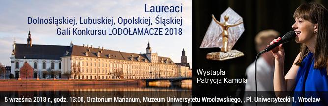 Laureaci etapu regionalnego: dolnośląskiego, lubuskiego, opolskiego, śląskiego Konkursu LODOŁAMACZE 2018