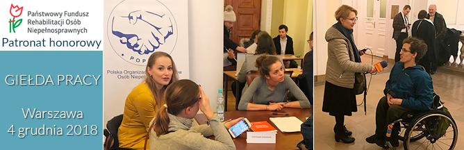 Kolejny sukces Giełdy Pracy w Warszawie zorganizowanej przez POPON
