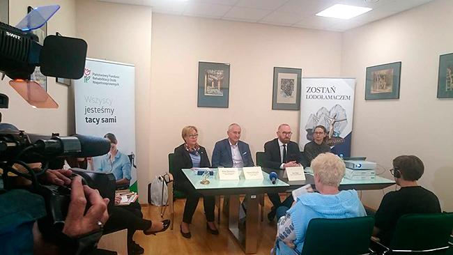 konferencja prasowa - Lodołamacze 26 czerwca 2018 r. godzina 12:00, Kraków