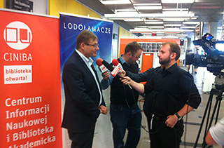 Konferencję prasowa Lodołamacze 2017 - Katowice 14 lipca