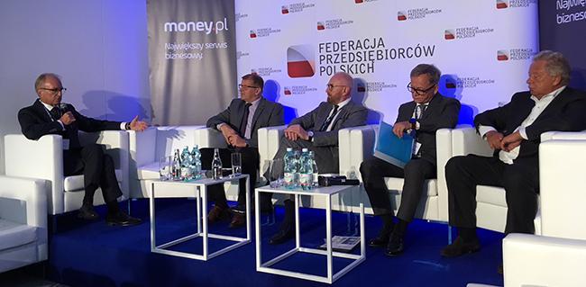 """Jan Zając na debacie """"Rynek pracy osób niepełnosprawnych"""" podczas Forum Ekonomicznego w Krynicy"""