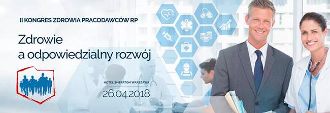II  Kongres Zdrowia Pracodawców RP- Jan Zając uczestnikiem Kongresu