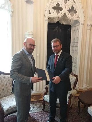 Spotkanie Zarządu POPON  z Ministrem Zdrowia Panem Prof. dr hab. Łukaszem Szumowskim