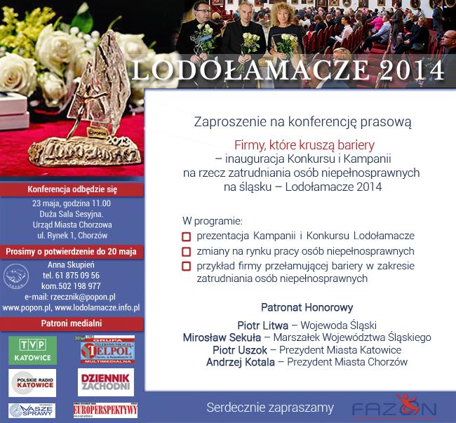 POPON konferencja prasowa Lodołamacze Chorzów