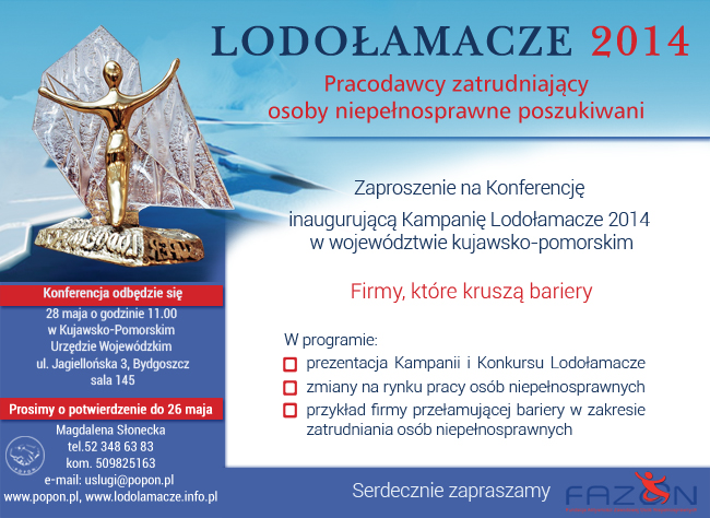 POPON Lodołamacze konferencja Bydgoszcz