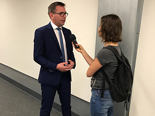 Konferencja Prasowa Lodołamacze 2018 w Łodzi